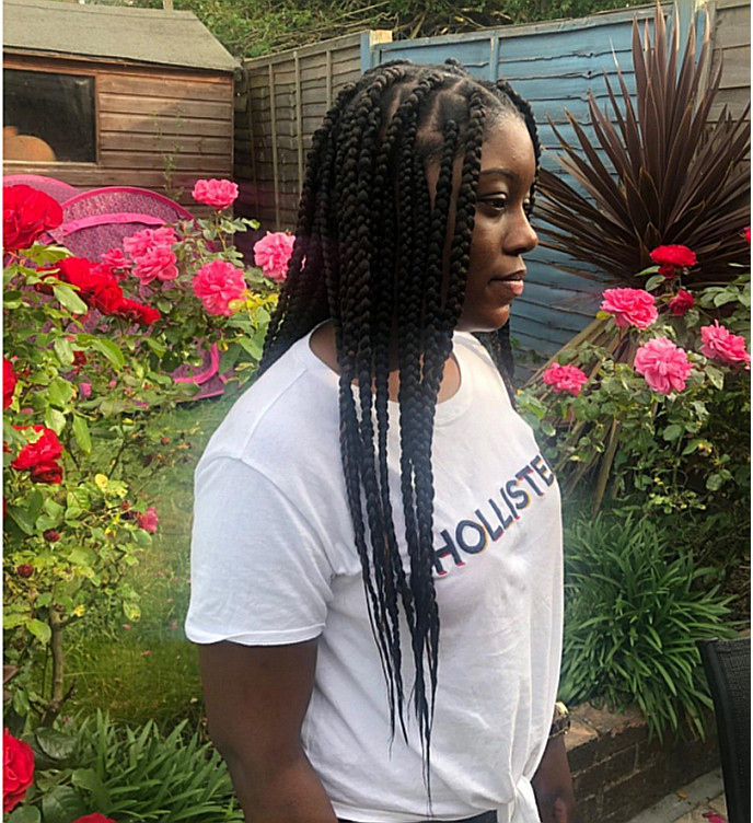 Box Braids Medium London Mobile Natural Hairstylist Book With Frohub