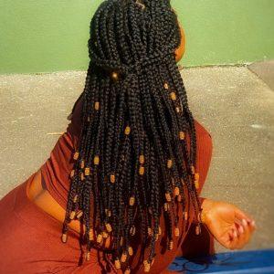 Box Braids MyBraidsDontHurt Book Black Afro London Mobile Hairdresser Braider Near Me FroHub