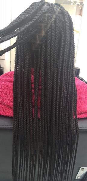 Box Braids WhitneiiHairLounge Book Black Afro London Hair Stylist Near Me FroHub