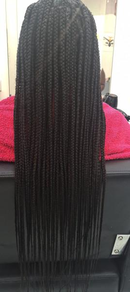 Box Braids WhitneiiHairLounge Book Black Afro London Hairdresser Near Me FroHub