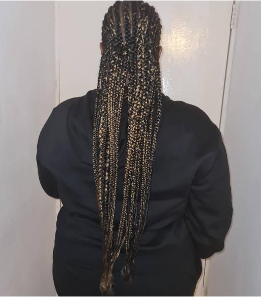 Braids Cornrows Feed In Stitch Lemonade LottaHairandBeauty Book Black Afro London Mobile Hair Salon Near Me FroHub