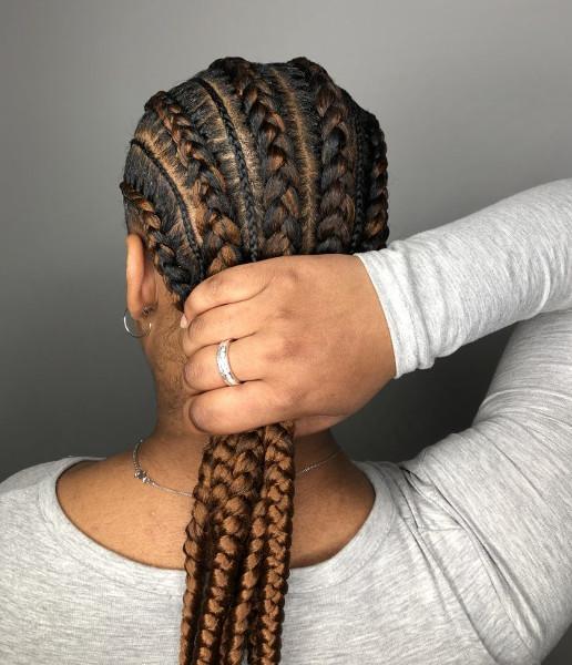 Feed In Stitch Braids Lemonade Cornrows CustomCornrows Book Black Afro London Mobile Hairstylist Near Me Braider FroHub