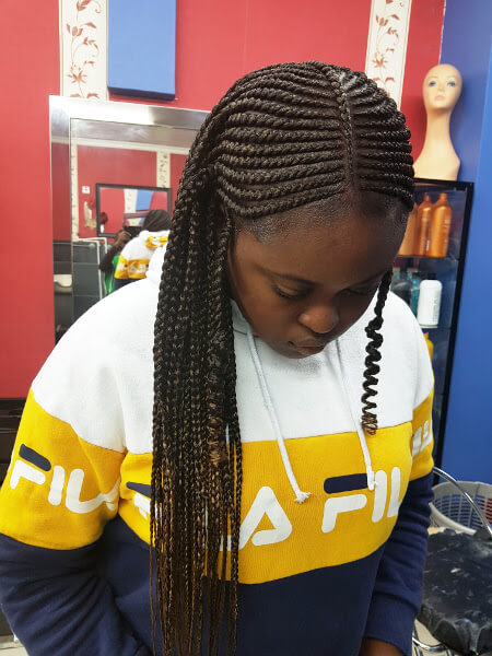 Fulani Ghana Tribal Braids Luemas Book London Afro Hairdresser Braider Appointment FroHub