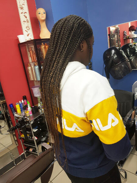 Fulani Ghana Tribal Braids Luemas Book London Afro Hair Salon Braider Appointment FroHub