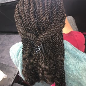 Marley Kinky Twists Book Black Hairstylist Lovely Braids UK FroHub
