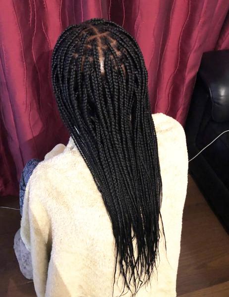 Knotless Box Braids CustomCornrows Book Black Afro London Mobile Hair Salon Near Me Braider FroHub