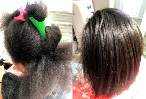 Wash Blow Dry Blowout Straighten Natural Afro Curly Black Hair Salon London Mobile Hairstylist Book Near Me HairbyGrace FroHub
