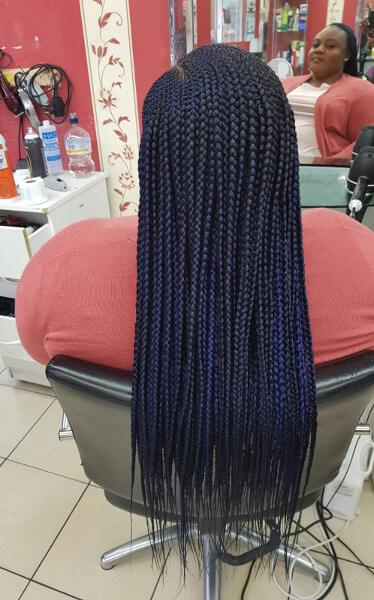3 Steps Ghana Feed In Cornrow Braids Mid Back Length Luemas Book London Afro Hairstylist Braider FroHub