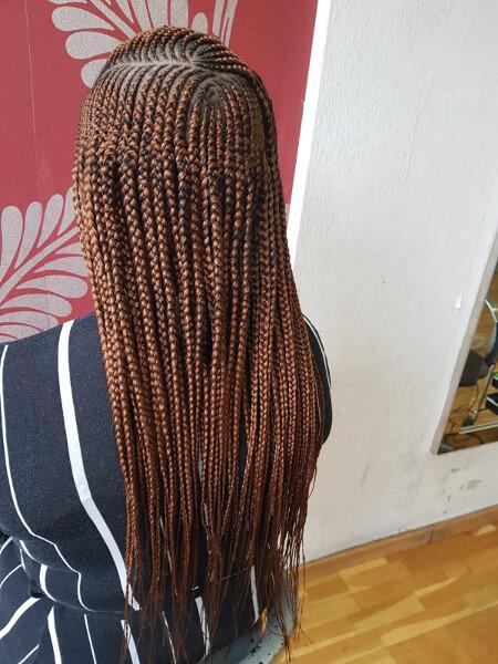 3 Steps Ghana Feed In Cornrow Braids Mid Back Length Luemas Book London Afro Hairdresser Braider FroHub
