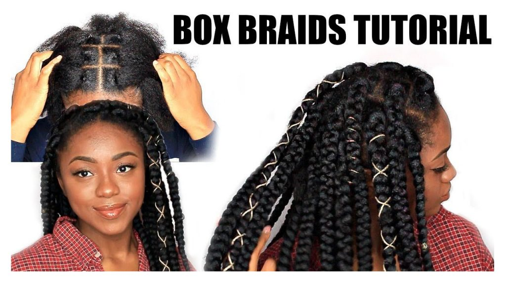 Box Braids Rubber Band Method Tutorial FroHub