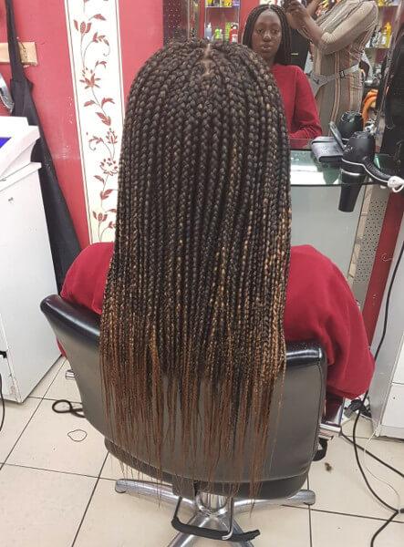 Box Braids Mid Back Length Luemas Book London Afro Hairdresser Braider FroHub