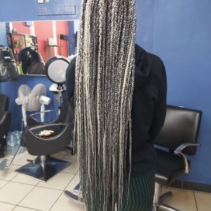 Box Braids Waist Length Luemas Book London Afro Hairdresser Braider FroHub