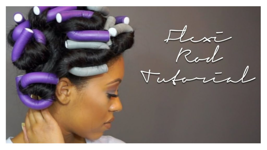 Flexi Rod on Natural Hair How to Tutorial FroHub