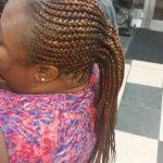 Ghana Feed In Cornrow Braids Ponytail Luemas Book London Afro Hairstylist Braider FroHub
