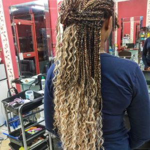 Goddess Braids Waist Length Luemas Book London Afro Hairdresser Braider FroHub