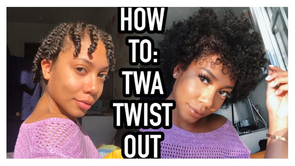 How to Twist Out on Short Natural Hair Tutorial FroHub