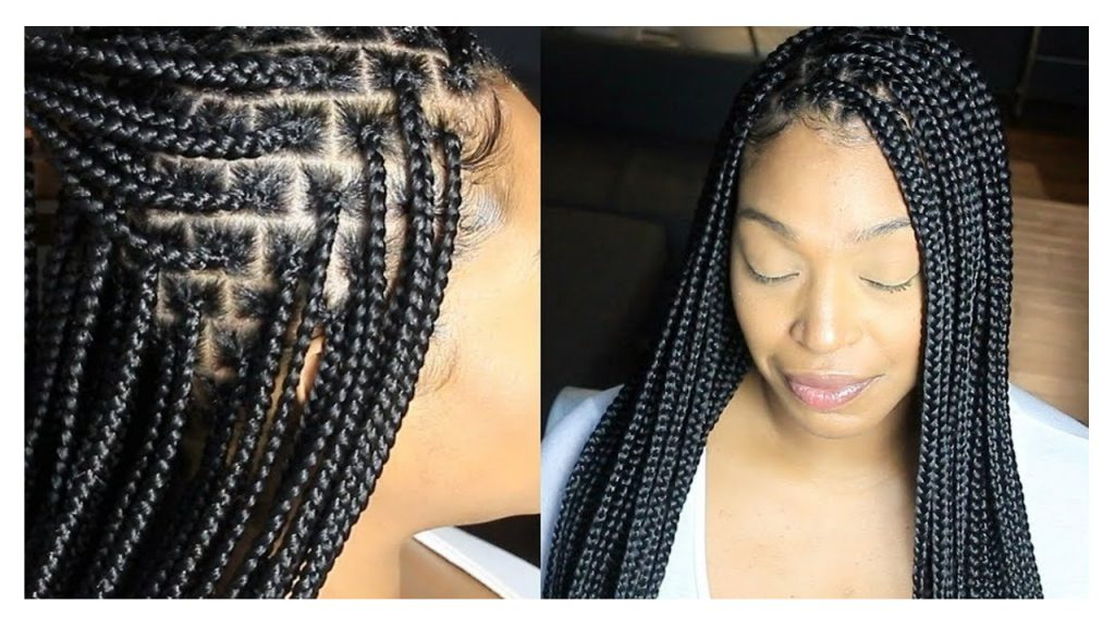 Knotless Box Braids Hair Tutorial FroHub
