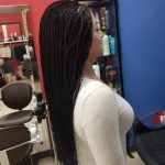 Micro Braids Mid Back Length Luemas Book London Afro Hairdresser Braider FroHub