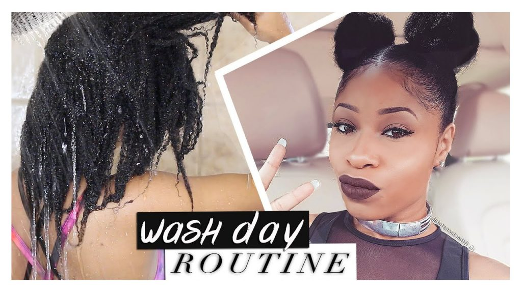 Natural Hair Wash Day Routine Tutorial FroHub