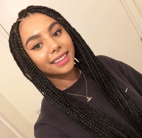 Box Braids Small Waist Length JoJosBraids Book London Romford Afro Mobile Hairdresser Braider FroHub