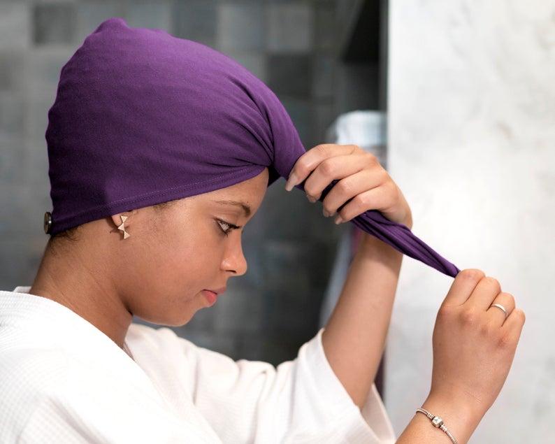T-shirt Microfiber Towel Dry Afro Natural Hair FroHub