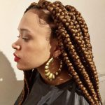Box Braids Jumbo Waist Length Jojosbraids Book London Afro Hairstylist Braider Appointment FroHub