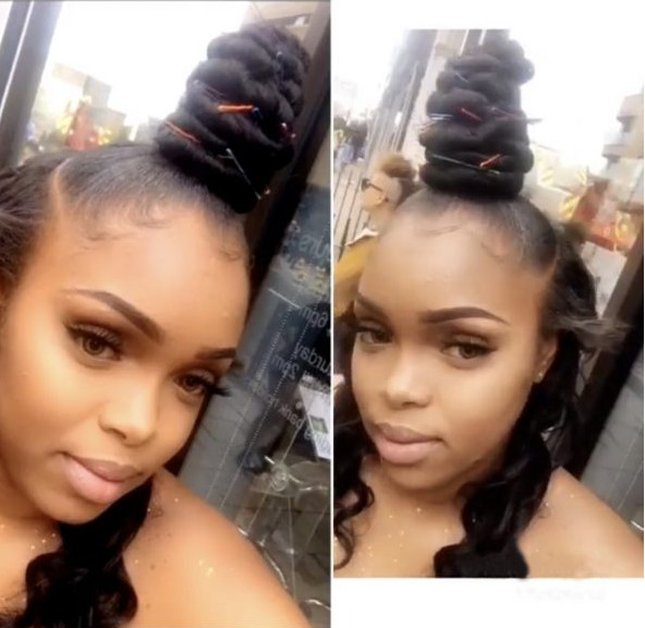 Ponytail Weave Hair Extensions Half up Half down Creativhairstyles Book Black Afro London Wig stylist FroHub