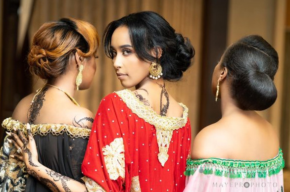 Afro Bridal Wedding Hairdresser Wig Weave Lace Frontal Book London UK Black Somali Hairdresser Near Me Symmetry Beauty FroHub