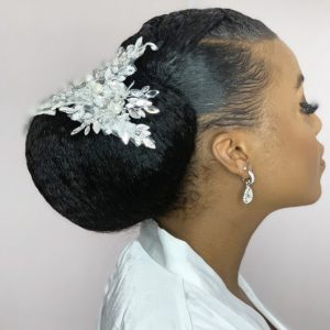 Afro Bridal Wedding Hairdresser Book London UK Black Hair Salon Near Me SymmetryBeauty FroHub