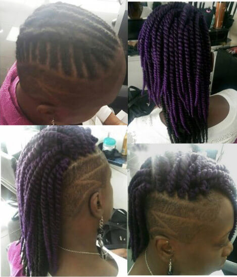 Crochet Hair Individual Braids Locs Twists Mohawk Weave Wig Natural Creativhairstyles Book Black Afro London Hairstylist FroHub