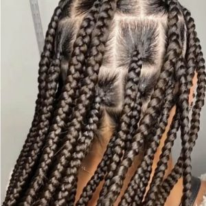 Knotless Box Braids jumbo Waist Length Jojosbraids Book London Afro Hairstylist Braider Appointment FroHub