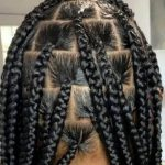 Knotless Box Braids large Waist Length Jojosbraids Book London Afro Hairstylist Braider Appointment FroHub