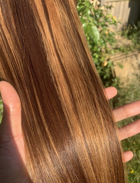 Light Brown Blonde Highlights Lace Frontal Wig Weave Maker Symmetry Beauty Book Black Afro London Hairstylist Appointment FroHub