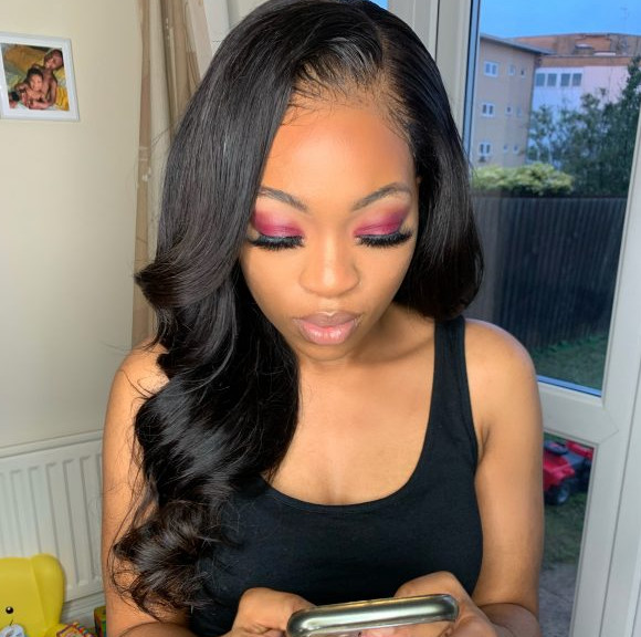 Mini Frontal Customised Wig Closure Weave Maker Symmetry Beauty Book Black Afro London Hairdresser Appointment FroHub
