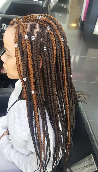 Box Braids TamaraHairStudio Book Black Afro London Hairdresser Salon Near Me Braider FroHub