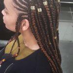 Fulani Tribal Ghana Feed In Braids Cornrows TamaraHairStudio Book Black Afro London Hairdresser Braider Near Me FroHub