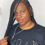 Knotless Box Braids TamaraHairStudio Book Black Afro London Hairdresser Salon Near Me Braider FroHub