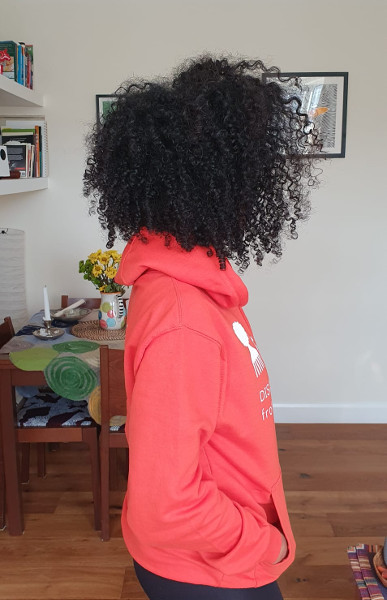 Apply Flax Seed Gel Curly Afro Defined Hair FroHub